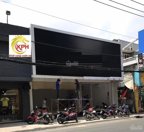 Nhà mặt tiền Nguyễn Thái Sơn gần ngã tư Phan Văn Trị khu đông dân cư, xe cộ qua lại sầm uất ảnh 0