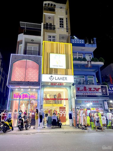 Bán nhà MT phố tây Bùi Viện, P. Phạm Ngũ Lão, Q1 (6.65x22m), GPXD: 8 tầng, giá 72 tỷ ảnh 0