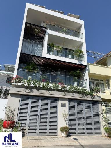 Cho thuê biệt thự đẹp 450m2 hầm 3 lầu 4 phòng gần sông Sài Gòn - Bình An, quận 2 giá chỉ 45 triệu ảnh 0