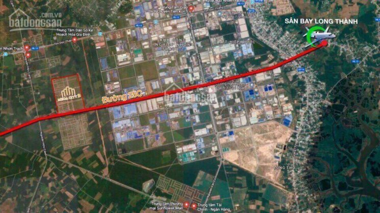 Bán đất nền Nhơn Trạch, dự án Mega City 2, mặt tiền đường 25C, sổ hồng riêng, thổ cư 100% ảnh 0