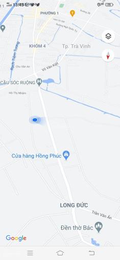 Cần bán đất nền nhà ấp Sa Bình, Xã Long Đức, TP. Trà Vinh ảnh 0