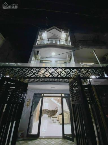Kẹt tiền bán gấp nhà đẹp 3 tầng 4x16m,tặng hết nội thất, Huỳnh Tấn Phát, sát Quận 7, chỉ 3.82 tỷ ảnh 0