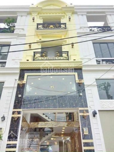 Bán nhà mới đẹp 4.5 tầng 4.2x15m, có gara xe hơi, sân vườn, đường Huỳnh Tấn Phát Quận 7, giá 6.4 tỷ ảnh 0