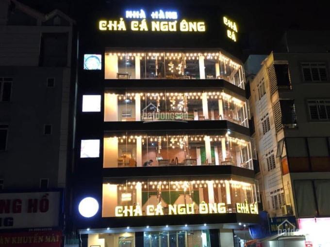 Cho thuê gấp nhà mặt phố Cát Linh, DT 120m2x7 tầng, Mt 5m, giá 65tr/th, Lh Ms Thảo 0937349988 ảnh 0