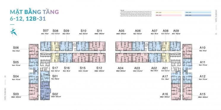 Bán suất ngoại giao căn A10, diện tích 95m2, tầng trung, full chính sách. Mipec Rubik 360 ảnh 0