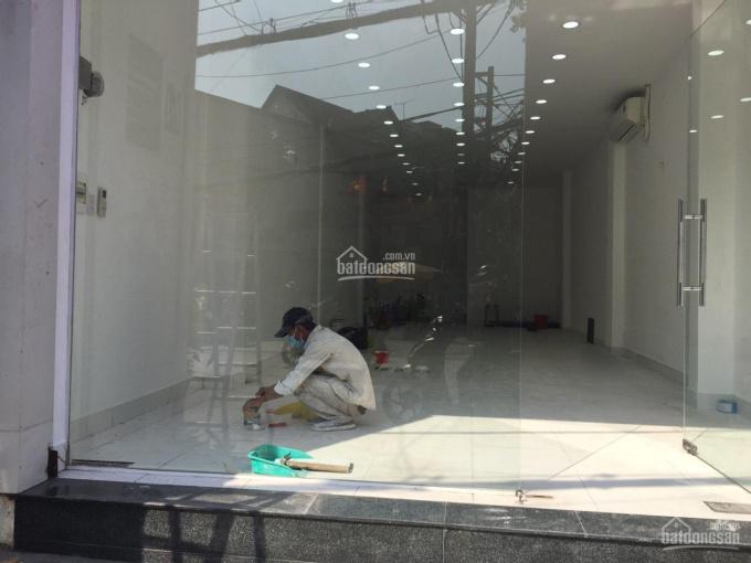 Nhà mới MT Phan Văn Trị 5x13m trệt trống suốt ảnh 0