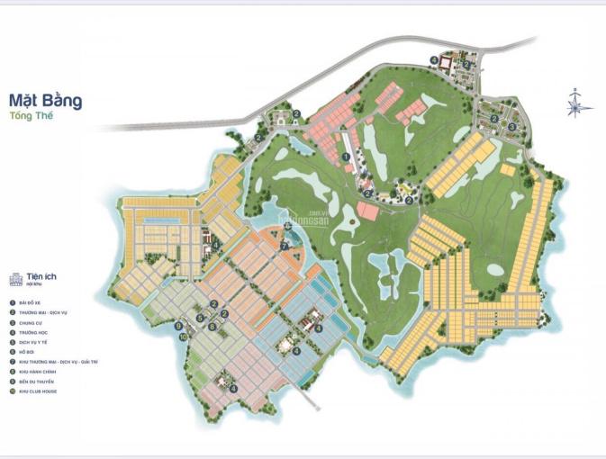 Cần bán nền biệt thự khu 1 hướng Đông, diện tích 800m2, giá từ 14tr/m2 rẻ nhất trong dự án. ảnh 0