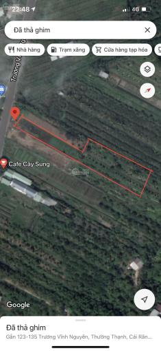 Đất mặt tiền đường Trương Vĩnh Nguyên, DT: 17m (hậu 31m) x 184m= 5.410m2, giá: 6.5 triệu/m2 ảnh 0