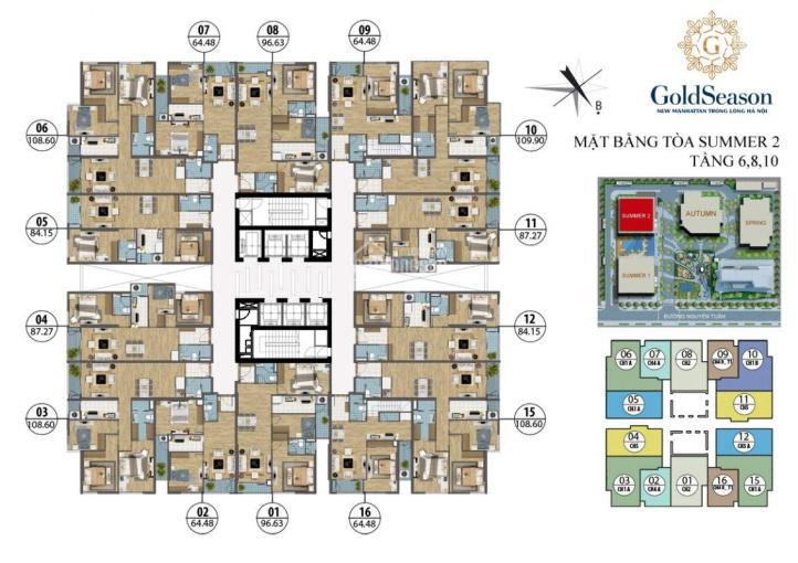 (0916419028) chính chủ bán căn hộ chung cư 47 Nguyễn Tuân, 3PN, DT 87m2, S2 giá bán 3 tỷ, SĐCC ảnh 0