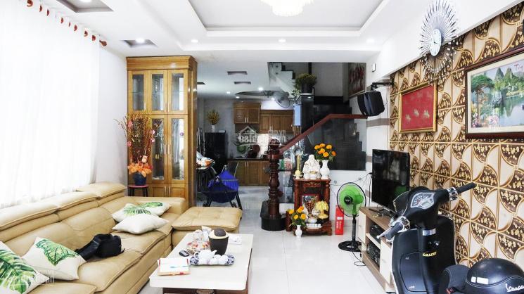 Giá rẻ + Vị trí đẹp + nhà mới 2 mặt hẻm xe hơi, nhà 1T3L DT 4,2x14m gần ngã 4 Cây Trâm - Lê Văn Thọ ảnh 0