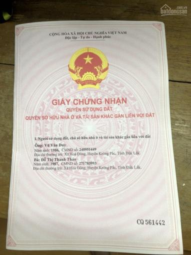Chính chủ bán gấp Mảnh đất tại hẻm 34 đường Trần Quý Cáp, P. Tân lập, TP. Buôn Ma Thuột ảnh 0