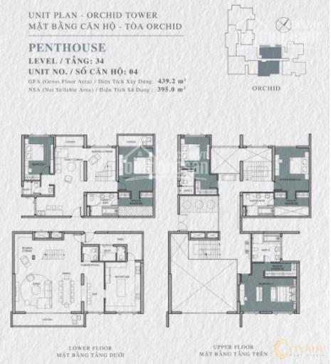 Penthouse Vista Verde 5PN, diện tích 439m2 giá bán 21 tỷ bao hết. LH minh trúc 0935708923 ảnh 0
