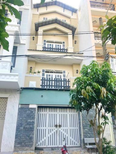 Kẹt tiền bán rẻ nhà 4 tầng 5x18.5m, mặt tiền đường số Phạm Hữu Lầu, Quận 7, giá chỉ 8.5 tỷ ảnh 0