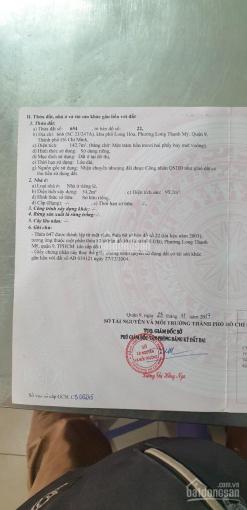 Bán mặt tiền kinh doanh Nguyễn Xiển, Long Thạnh Mỹ sát bên vinhome ảnh 0