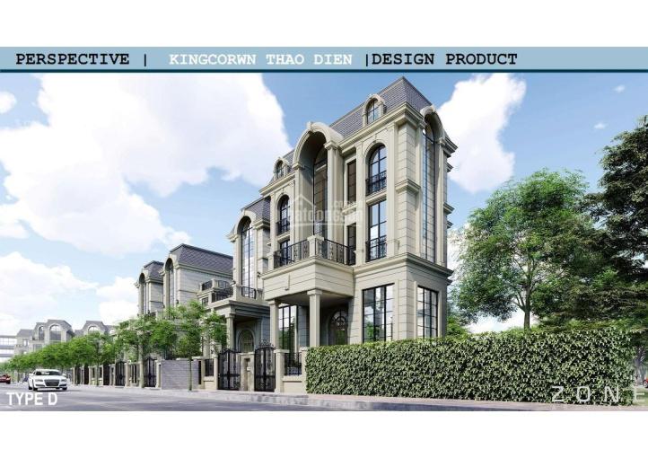 Villa góc Thảo Điền, dự án King Crown biệt lập cao cấp Quận 2 ảnh 0