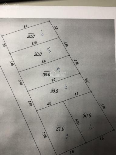 Bán đất giá rẻ tại Đức Giang 30m2 cách 10m, ngõ ô tô tránh nhau ảnh 0