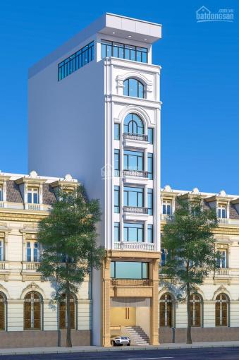 Bán nhà mặt phố Dịch Vọng Hậu, Trần Thái Tông. Diện tích: 110m2 x 6,5T. MT: 6,5m, giá: 43 tỷ ảnh 0
