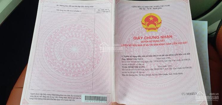 Bán đất mặt đường khu du lịch Tâm Lin Bái Đính - xã Gia Sinh, huyện Gia Viễn, Ninh Bình ảnh 0