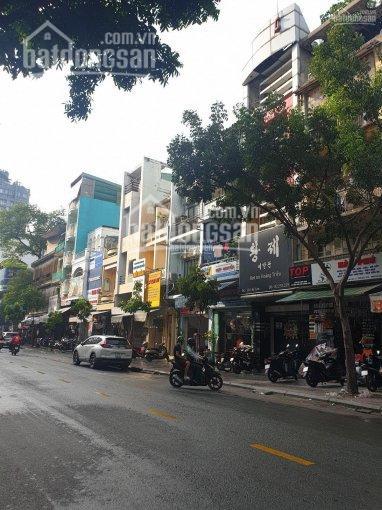 Cho thuê tòa văn phòng Ký Con, P. Nguyễn Thái Bình, Quận 1 sâu 25m 9 tầng thang máy 122,436 triệu ảnh 0