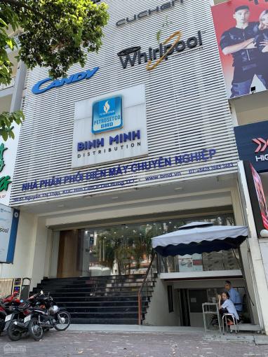 Cho thuê nhà mặt tiền Nguyễn Thị Thập, 10x20m 1 hầm 4 lầu giá 195 triệu/tháng 0901061368 ảnh 0