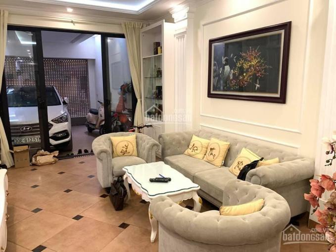 Bán nhà khu phân lô cán bộ Huỳnh Thúc Kháng, Ba Đình, 50.6 m2, 5 tầng, gara ô tô, 8.05 tỷ ảnh 0