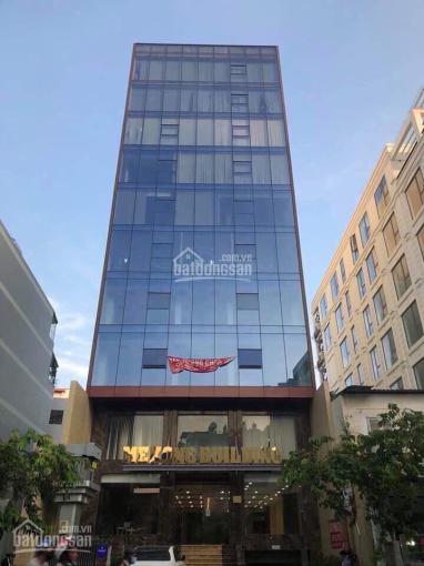Bán nhanh tòa nhà văn phòng, hầm 7 lầu, thu nhập cao, mặt tiền đường P. Thạnh Mỹ Lợi - DT: 10x20m ảnh 0