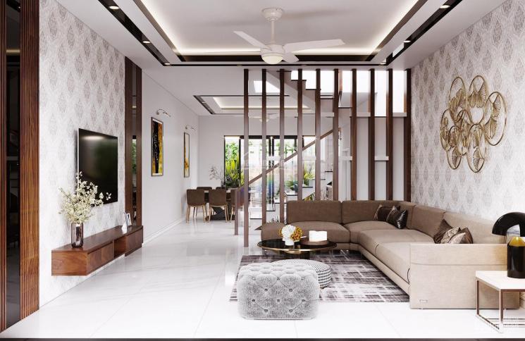 Cho thuê nhà riêng 4 tầng 5 phòng ngủ tại dự án Hoàng Huy Mall Võ Nguyên Giáp, Lê Chân, Hải Phòng ảnh 0