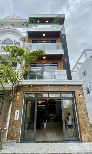 Nhà mặt phố đường Huỳnh Tấn Phát DT 5m x 16m, 3 lầu, 4 pn, nội thất mới, giáp Phú Mỹ Hưng ảnh 0