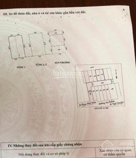 Hàng tách thửa HXH An Điềm, P10, Q5 - 95m2 (8x12) ảnh 0