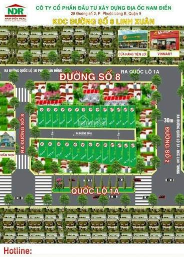 Bán đất hẻm 226 đường 8 Linh Xuân DT 55m2 giá 3,1 tỷ sổ hồng riêng xây hoàn công LH 0967397301 trí ảnh 0