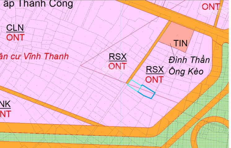 Đất Vĩnh Thanh, khu vực an toàn thổ cư, gần nút giao vành đai 3 với cao tốc, LH: 0375019940 ảnh 0