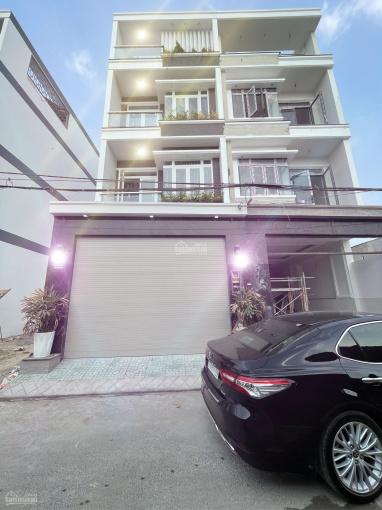 Nhà xây mới hoàn thiện, DT 100m2 đường Huỳnh Tấn Phát, 3 lầu, 4 PN, nội thất mới 100%, giá 6.8 tỷ ảnh 0