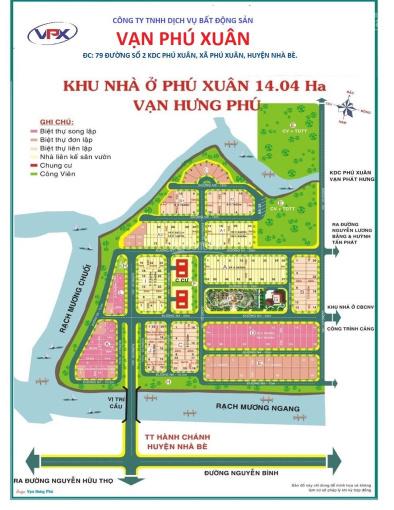 Bán nền biệt thự MT đường 25m KDC Vạn Hưng Phú dãy D DT 250m2 giá 40tr/m2 đối diện CV. 0936660***