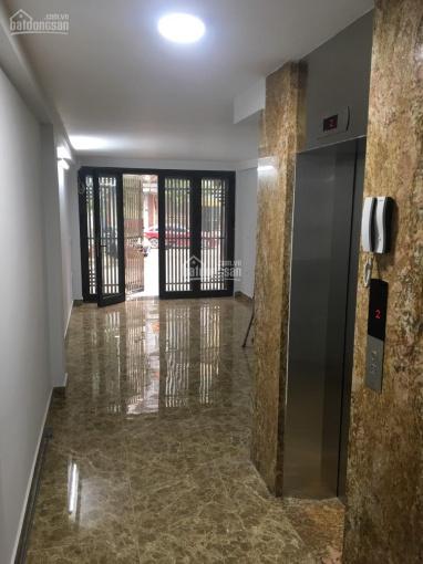 Cho thuê nhà 45m2x6t có thang máy, ô tô đỗ cửa giá 18tr, lh 0982727796 ảnh 0