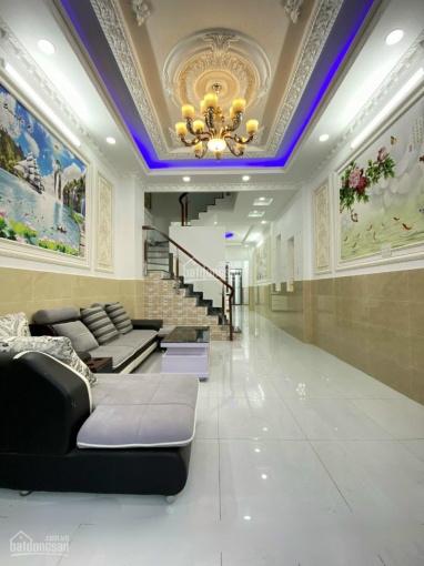 Nhà 2 lầu đường Huỳnh Tấn Phát, Nhà Bè. DT 4x28m, mặt tiền hẻm chính tiện kinh doanh, giá 4.6 tỷ ảnh 0