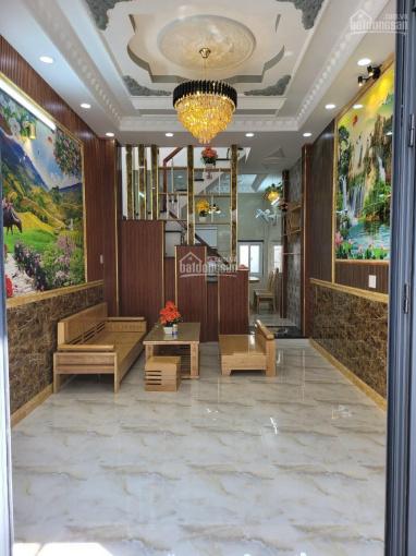 Bán nhà đường Bùi Quang Là, P12, Gò Vấp, DT: 3,5x14m, đúc 1 tấm, nhà đẹp nội thất cao cấp, 3,95 tỷ ảnh 0