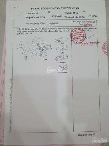 Tòa nhà CHDC đường Số 10 Lý Phục Man P.Bình Thuận Quận 7, DT 6x20m hầm 6 lầu 29 phòng LH 0909258444 ảnh 0