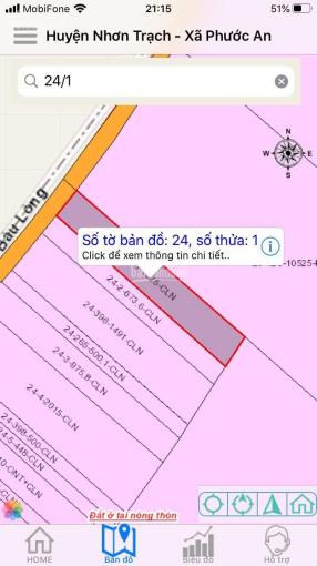 Phần mô tả đất dân cư, mặt tiền đường liên xã Bàu Long, xe tải chạy vi vu ảnh 0