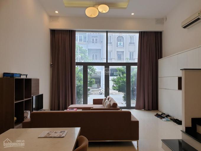 Cho thuê nhà phố Mỹ toàn, DT 6x18.5m, giá 45tr/ tháng, XD trệt lửng 2 lầu áp mái, LH 0911 95 1212 ảnh 0