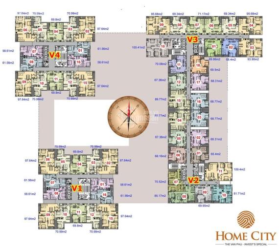 Bảng tổng hợp 82 căn cắt lỗ 200tr chính chủ bán chung cư Home City 177 Trung Kính - 0989569586 ảnh 0