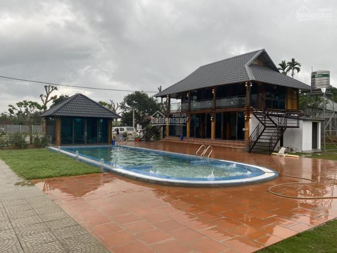 Chính chủ bán khuôn viên nhà vườn nghỉ dưỡng 8.250m2 có 800m2 thổ cư, chia sẵn 4 lô thổ cư 2.6tr/m2 ảnh 0
