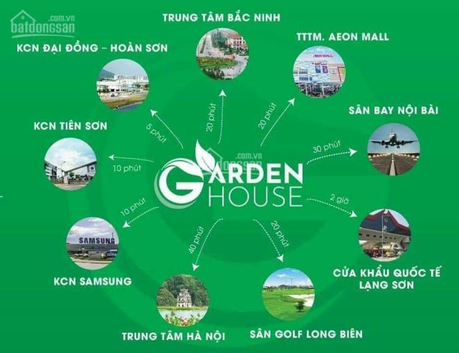 Bán lô góc ngoại giao dự án Garden House VSIP Bắc Ninh, vị trí đắc địa ảnh 0