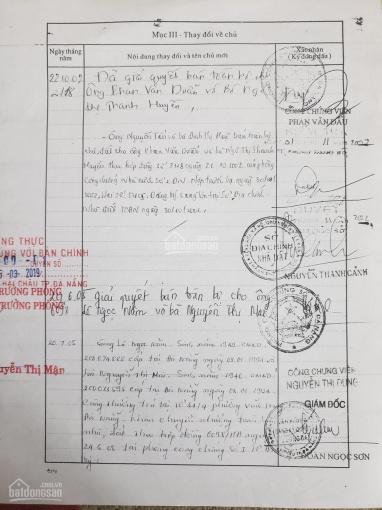 Chủ bán đất đường Hoàng Diệu, Đà Nẵng tặng nhà cấp 4 ảnh 0