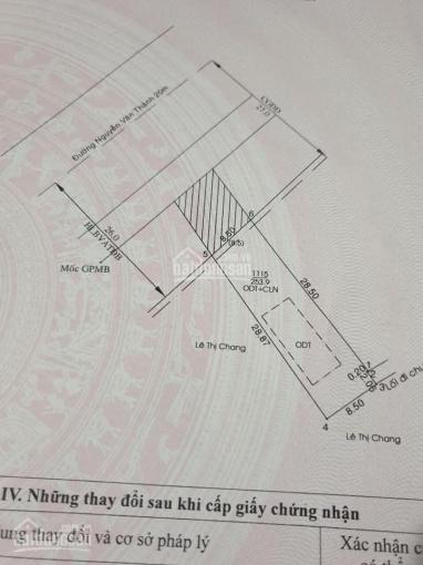 Bán đất Định Hoà, Thủ Dầu Một mặt tiền QL14 DT 8,5x29m TC 60m2, giá 7 tỷ thương lượng ảnh 0