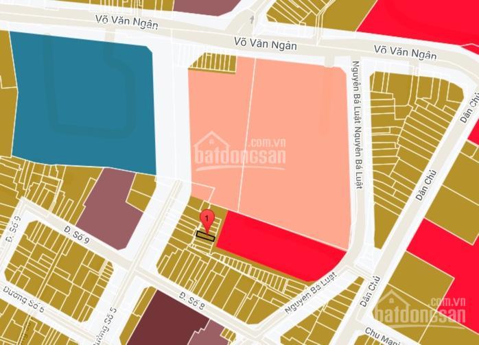 Bán nhà MTKD chợ Từ Đức sát bên Vincom, P Bình Thọ, Thủ Đức, 3,76x15m, giá 4,35 tỷ ảnh 0