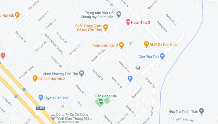 Bán nền đẹp gần chợ 586, Phú Thứ, Cái Răng, Cần Thơ ảnh 0