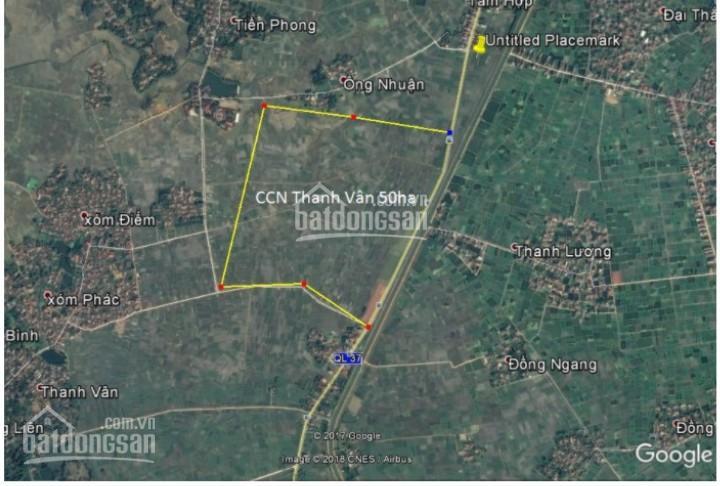 Bán đất KCN Thanh Vân, Hiệp Hòa, 100m2, mặt tiền 5m, giá 460 triệu ảnh 0