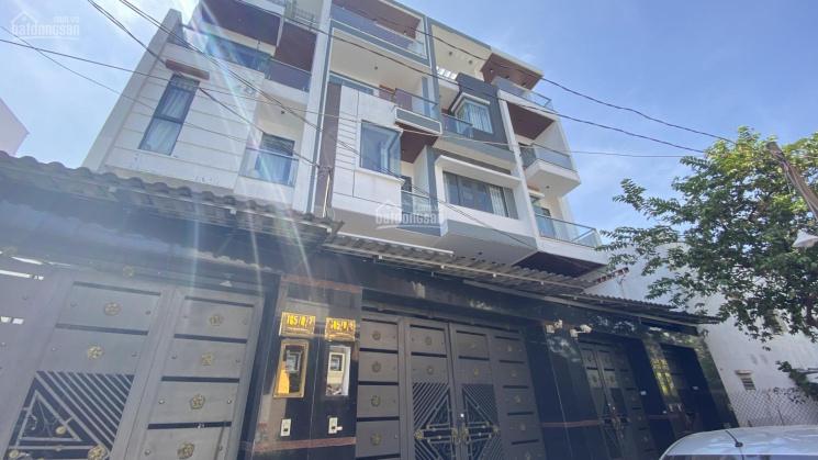 Bán nhà phố hiện 4mx19m đúc 3.5 tấm. Đường 5m, Nguyễn Phúc Chu, P15, TB ảnh 0