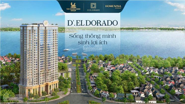 Bán căn hộ vị trí 09 tầng cao D'El Dorado 2, Tây Hồ, Hà Nội ảnh 0