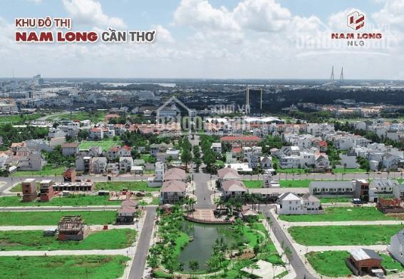 Khu đô thị Nam Long - lô góc biệt thự, 275.3m2 - 2 mặt tiền đường, ngay công viên hồ cảnh quan ảnh 0